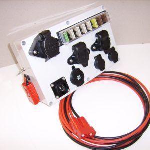 12 Volt adapter/fordeler