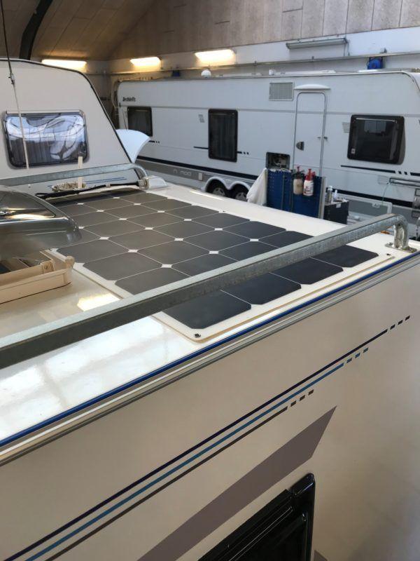 110W Flexible Solcelle Kit til Campingvogn. mm