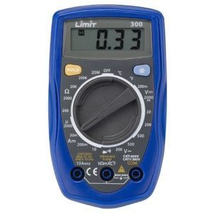 Limit 300 Multimeter.
