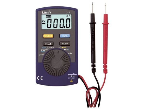 Limit 210 Lomme Multimeter